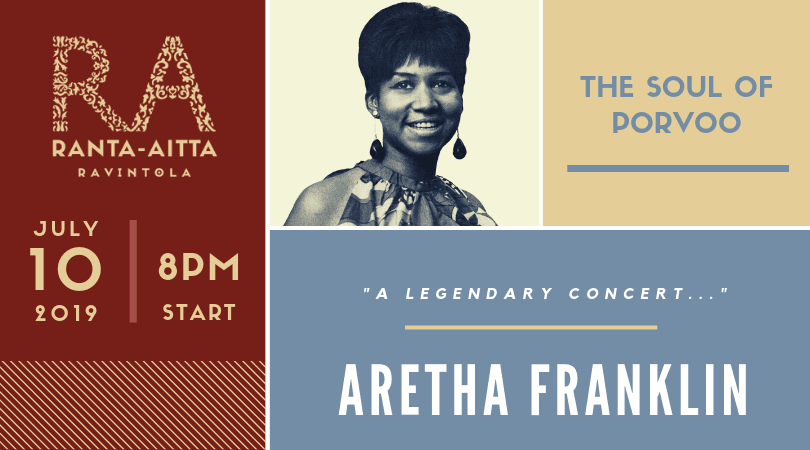 Aretha Franklin, The Queen Of Soul Comes To Porvoo