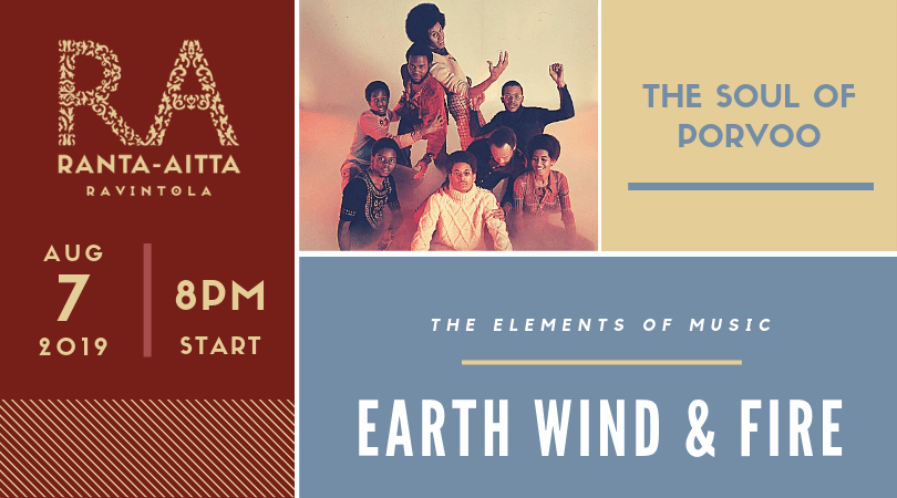 Earth Wind And Fire Are Coming To Porvoo