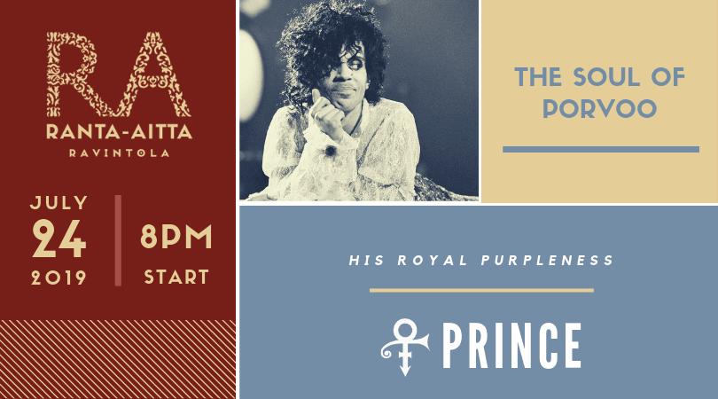 Prince, His Purpleness, Comes To Porvoo