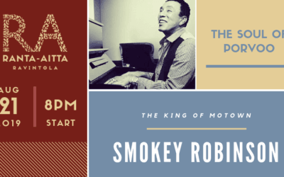 Smokey Robinson, The King Of Motown, Comes To Porvoo