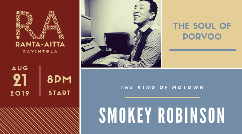 Smokey Robinson at Ranta-Aitta